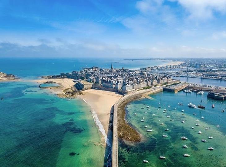 Đến Saint Malo và trải nghiệm chạy thủy triều