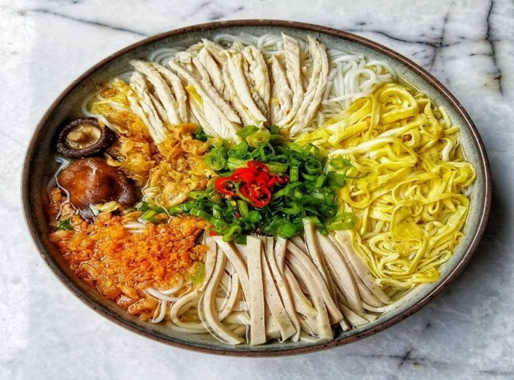 Bún thang – món ăn tinh túy của ẩm thực Hà Nội