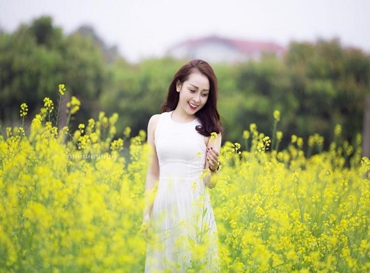 Ngắm những cánh đồng cải vàng ấn tượng của Hà Nội